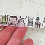 Jars & Bottles Washi Tape