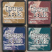 Distress Mini Ink Kit - Kit 12 - Dark Hues