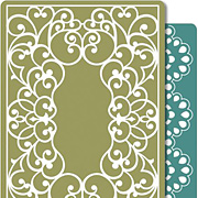 Scrolls & Lace Embossing Folder Set