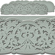 A Gilded Life - Belgian Lace Long Die