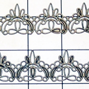 Chipboard Border Strips - Lace