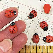 9x13mm Ladybugs*