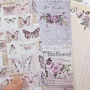 Lavender Butterflies 6x6 Paper Pad
