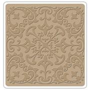 Leaf Rosette Embossing Folder