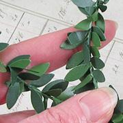 Larger Green Leaf Garland