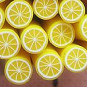 Polymer Clay Lemon Cane