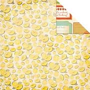 Nan's Favourites: Lemon Slice Scrapbook Paper