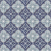 Large Blue Mosaic Scrapbook Paper