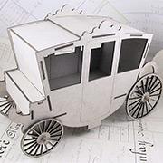 3D Cinderella Coach - Large Size
