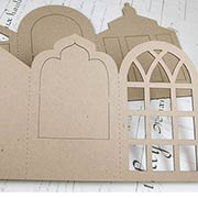 Large Conservatory Accordion Book