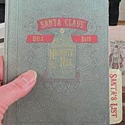 Mini Photo File Folders - Santas Journey*