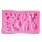 Multi-Sizes Leaves Silicone Mold*