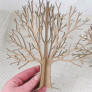 3D Chipboard Tree - 8 Inch*