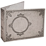 Tim Holtz Large Worn Book Cover - Chronicle