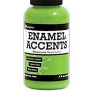Enamel Accents - Electric Lime