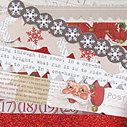 Santa's List Cardstock Border Set
