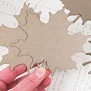 Maple Leaf Die-Cut Chipboard