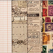 Maps, Text & Ledgers 8x8 Paper Stack