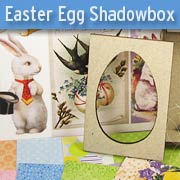 Easter Egg Shadowbox Kit - March 2018