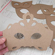 Large Mask Set 1 - Set of 6