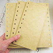 Masonite Book Covers
