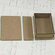 Matchbox Sized Faux Book Box
