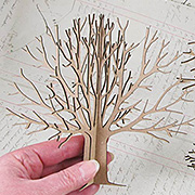 3D Chipboard Tree - 6 Inch*