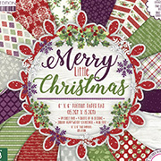 Merry Little Christmas 6x6 Paper Pad