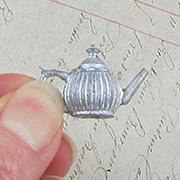Mini Metal Teapot