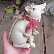 Christmas Mouse - Sitting