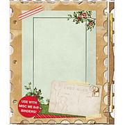 Christmas Collage Mini Album*