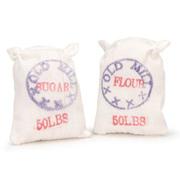 Miniature Flour and Sugar Sacks
