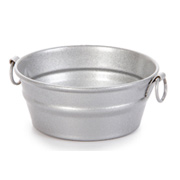 Miniature Metal Wash Tub