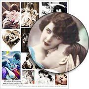 Modern Romance Collage Sheet