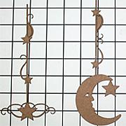 Chipboard String Alongs - Moon & Stars*