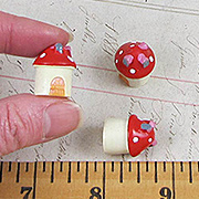 Mini Mushroom Gnome House