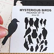 Mysterious Bird Cut-Outs*