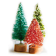 Oh Deer Mini Bottlebrush Tree Set