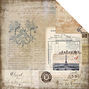 Glamour & Grunge Scrapbook Paper - The Old World