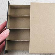 Chipboard Secret Spell Book Box