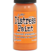 Distress Paints - Carved Pumpkin
