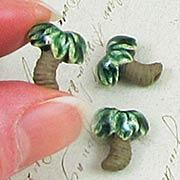 Ceramic Palm Tree Bead
