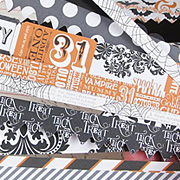 Masquerade Party Die-Cut Cardstock Borders