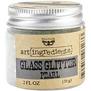 Art Ingredients Glass Glitter - Pearl