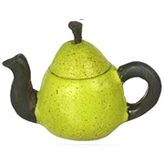 Green Pear Teapot
