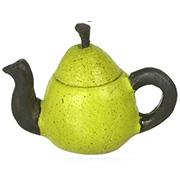 Green Pear Teapot
