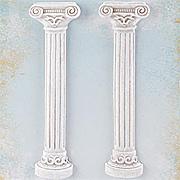 Shabby Chic Roman Pillars