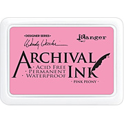 Archival Ink Pads - Pink Peony