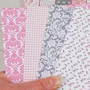 Julie Nutting Pink Paper Dolls 6x6 Pad