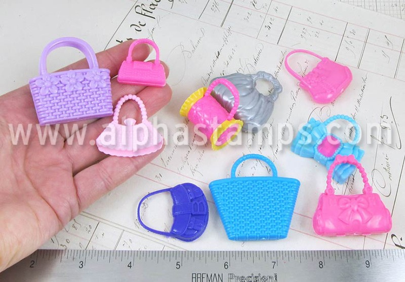 Mixed Set of Doll Purses